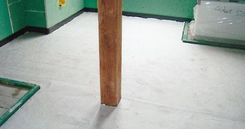 Fußbodenaufbau Bad ~ Unifloor objekte fußbodenaufbau im bad eines altbauhauses
